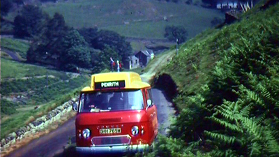 Lake District post bus, 1970s